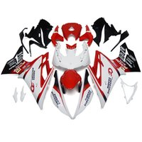 Wholesale Fairings For TRIUMPH DAYTONA ABS Plastics Motorcycle Fairing Kit Frames Cowling Motorbike Full Covers White Red