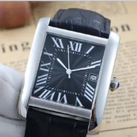 Wholesale auto stores - 5style king store luxury brand watch men francaise black dial black leather belt watch automatic see through watch men's dress wristwatch