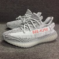 Wholesale Men Shoes Cheap Prices - Cheap Low Price SPLY 350 v2 Boost Kanye West Shoes Popular Grey Zebra Boost v2 Running Shoes For Men