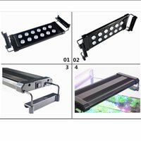 51cm 20W High Power LED Aquarium Lumière pour l'éclairage intérieur Décorations super luminosité LED Aquarium Lumières pour Fish Reef Réservoir