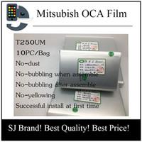 Wholesale Oca Optical Clear Adhesive Glue - 250um OCA Optical Clear Adhesive for iPhone 5 5S 5C 4 4s 6 6s 7 plus Optical Clear Adhesive Glue Sticker OCA Film For Touch Glass Lens