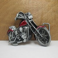 Wholesale Belt Buckle Motor - BuckleHome motor belt buckle with two colors with pewter finish FP-02666 free shipping