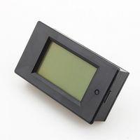 Wholesale Cheap Power Meters - Wholesale-Cheap Sale 20A AC Digital LED Power Panel Meter Monitor Power Energy Voltmeter Ammeter