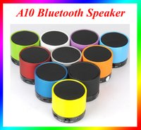 Wholesale Wholesale Home Subwoofers - Mini Wireless Portable Speaker S10 Bluetooth Speaker HI-FI Music Player Stereo Subwoofers Home Audio Support TF Card Fit iphone 6s Free DHL