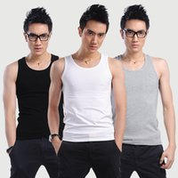 Wholesale Base Tee - Wholesale- 2017 Hot Sale Men Boy Body Compression Base Layer Sleeveless Summer Vest Thermal Under Top Tees Tank Tops Flexible 28
