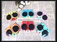 Wholesale Kids Round Eyeglasses - Fashion Kids Arrow Sunglasses Child Boys Girls Sun Glasses Sun Shade Eyeglasses UV400 Sunglass Brand Drop Shipping yj-17
