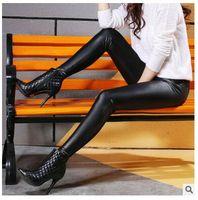 Wholesale Super Slimming Leggings - 2016 Spring And Summer Women Leggings Super Elastic Casual Thin Legging Wholesale Multicolor Slim Leggings For Women Free Shipping