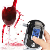 Wholesale Digital Alcohol - Hot Selling Portable Smart Breath Alcohol Tester Digital LCD Breathalyzer Analyzer AT6000