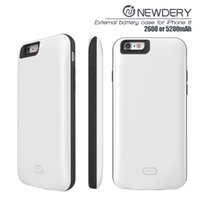 Wholesale Best Wholesale Power Banks - For iphone 6 mobile battery cover case for iphone 6s from best seller for apple 6s power bank iphone 7 2600mah powerbank