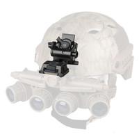 Wholesale Helmet Mounts - New Arrival FAST Helmet Mount Metal Adapter Black Tan Sliver Color For Outdoor Sport Use CL24-0049