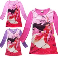 Wholesale Girls Dresses Years Old - Cheap price best quality New Winter Kids cartoon Elena of Avalor cotton long sleeve girls dress for 2-10 years old