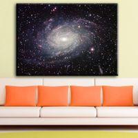 universum poster großhandel-ZZ1772 Galaxy Space Stars Nebula Kunst leinwand Poster Universum Landschaft Bilder Dekoration wanddekor kunstdrucke