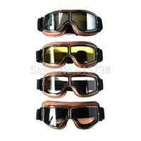 casco de cross country al por mayor-4 colores Lenese UV Protction Lens Pilot Motocrosss MX Goggles Riding Helmet Cross Country Climb Goggle Motociclismo Racing Gafas