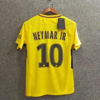 Soccer Men Short Perfect 17 18 neymar jr soccer jerseys away big size XXL  XXXL 4XL 8d1210455
