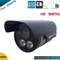Wholesale Dual Ccd Cctv Camera - Free shipping 2016 NEW CCTV Camera 900 TVLCCTV Camera Dual ARRAY IR LED Sony CCD Security camera