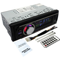 Wholesale Radio Receiver Card - Car FM and MP3 Player Auto Radio Receiver Stereo Radio Receiver Aux with USB mobile Port and SD MM Card Slot Embedded NO DVD