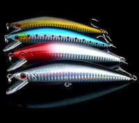 Wholesale sinking minnow lures for sale - Fishing Lure Big Minnow Sinking Bait Seabass Catch Long Range Casting Artificial Lures Fresh salt water cm g