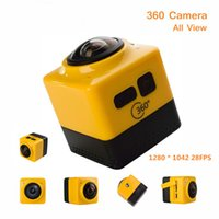 Wholesale Cube H - New Arrival Cube 360 Sports Video Camera WIFI H.264 360 Degrees Panorama Camera 360x190 Large Panoramic Shot Sports Camera