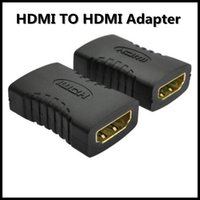Wholesale Extension Hdmi Male Female - High Quality HDMI Female to Female F F Cable Extension Adapter Converter Connector For HDTV