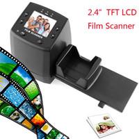 "Wholesale Digital Film Converters - 2.4"" TFT LCD Negative Photo Scanner 35mm Slide Film Scanner Converter Convert your film into Digital JPG JPEG Format"