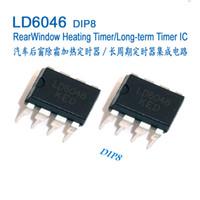 temporizador ics al por mayor-Circuitos integrados de temporizador de calefacción de la ventana trasera del automóvil, circuito integrado, IC, LD6046 U6046B U6046 DIP8