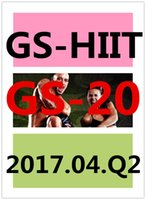 Top-sale 2017.4 aprile Q2 New Routine GS 20 ST HIIT 30 Minuti Esercizio Fitness Video GS20 ST20 DVD video + musica CD