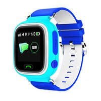 Wholesale Child Gps Gsm Watch - 2016 Luxury Bluetooth Smart Watch Fashion Wrist Smartwatch children smartwatch Wearable Digital Device for IOS GSM GPS positioning Q70