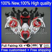 Wholesale Lucky Strike 96 Gsxr - Body Bodywork For SUZUKI Lucky Strike Hayabusa GSXR1300 96 07 GSX R1300 15XH0 GSXR-1300 GSXR 1300 1996 1997 1998 1999 2000 2001 Fairing kit