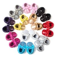 Wholesale moccasins baby sandals resale online - kinghooshoes high quality baby moccasins kids moccs baby shoes sandals fringe shoes new designed moccs