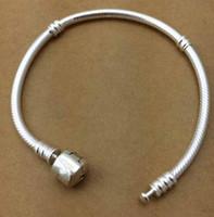 Wholesale Sterling Silver Watch Bracelets - 2017 FASHION Top Brand Luxury 925 silver bracelet women flashion bracelet watch 925 silver lady bracelet Relogio Masculino Montre Homme