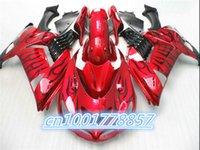 Wholesale Kawasaki Ninjas For Cheap - Hot Sales,Cheap zx14r Fairings Kit For Ninja ZX 14R 2006-2011 ZX-14R 06-11 blcak Flame Sport Fairings