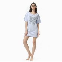 Wholesale Women S Soft Robes - Wholesale-2016 summer new cotton women robe fashion good quality modal short sleeve english letters round neck soft comfortable pijama