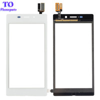 Wholesale Xperia Screen Replacement - Touch Screen For Sony Xperia M2 Aqua D2403 Touch Panel Sensor Digitizer Replacement Glass