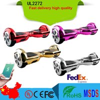 Wholesale 2016 Balancing Electric Scooter App control Scooter hoverboard Electric Scooter Two Wheels Hoverboard by FEDEX smart wheels