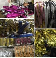 Wholesale Leather Belts Buckles Wholesale - TOP NEW OFF White Yellow Letters Logo Belts Unisex Sexy Hip Hop Punk Men Women 2Meter Canvas Belt Fashion Kanye West Rihanna Gigi Hadid