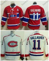 Wholesale Authentic Children - 2015-16 Kids Montreal Canadiens Hockey Jerseys Youth #11 Brendan Gallagher Jersey Children Authentic Stitched Jersey