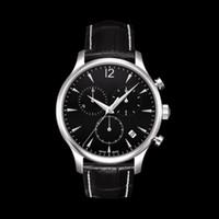 Wholesale Eta Swiss Date - New T063 watch 100% Original Swiss ETA movement Luxury watches men top brand Watch Men Sapphire Glass Date Mens Sport Watches Chronograph