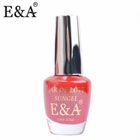 All'ingrosso- EA Nail Lacquer Vaso d'Amore Sungel 15 ml Vernis a Ongle 50 Colori Nail Polish Quick Dry Nail Polish