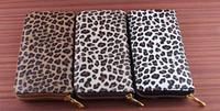 Wholesale Key Chains Korean Wholesale - 2017 new style man bag New fashion women Long wallets Female leopard print purse personality card holders zipper bags wallet free shipping