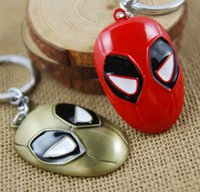 3,8 centimetri di alta qualità Super Hero Deadpool Comics Metal Keychain portachiavi Cartoon Con sigillato Package migliore regalo K42E