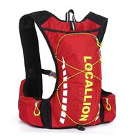 Wholesale Plain Fashion Vest - 2016 10L Professional Outdoor Cycling Bicycle Bike Backpack Packsack Running Backpack Fishing Vest Bag Hydration Pack