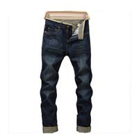 Wholesale leopard jeans men - free shipping 2016 summer style men jeans brand high quality famous designer denim jeans sport jeans masculina