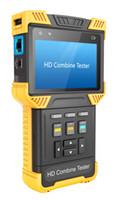 ingrosso tester cavo cctv-Nuovo monitor Tester CCTV CCTV HD 1080P CC da 4,0 '' Hot 'per telecamere analogiche e IP, supporto di controllo Onvif / PTZ / Test cavo / Test audio video / Barra colori