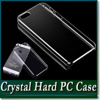 Wholesale Hard Plastic Pc Case Crystal - 1mm Slim Clear Crystal Hard PC Case Transparent Cover Shell for iPhone 7 6 6S Plus 4.7 5.5 inch SE 5 5S Samsung Galaxy S7 edge S6 Note 5 4