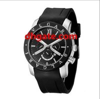 Wholesale Choose Work - High quality Italy luxury jewelry brand watch,calendar work Tungsten steel Men's silicone quart watch four styles to choose from