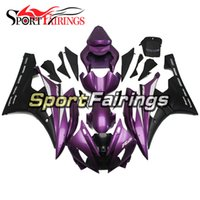Purple Black New Injection Fairings pour Yamaha YZF600 YZF R6 06 07 2006 - 2007 Kit de carrosserie ABS complet Carrosserie Cowling