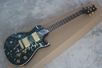 Wholesale Dragon Guitars - Custom Shop Dragon Top Anniversary Electric Guitar China with Dragon Signature In The Headstock