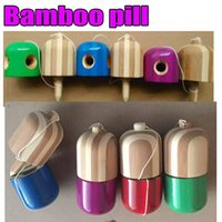 Wholesale Other Educational Toys - 1 hole   5 holes pill kendama bamboo pill Outdoor Adult educational gifts toys sports Toys Best Wood Wooden Kids Toy