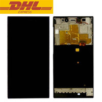 Wholesale Mi3 M3 - Top Quality Full LCD Display Touch Screen Digitizer Assembly + Frame For Xiaomi Mi3 M3 WCDMA CDMA Mobile Phone Screen Replacement