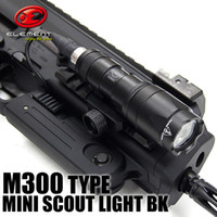 ingrosso mini torce tattiche-Tactical SF M300 MINI SCOUT LIGHT M300a LED Mini Scout Flashlight Gun Lights Nero